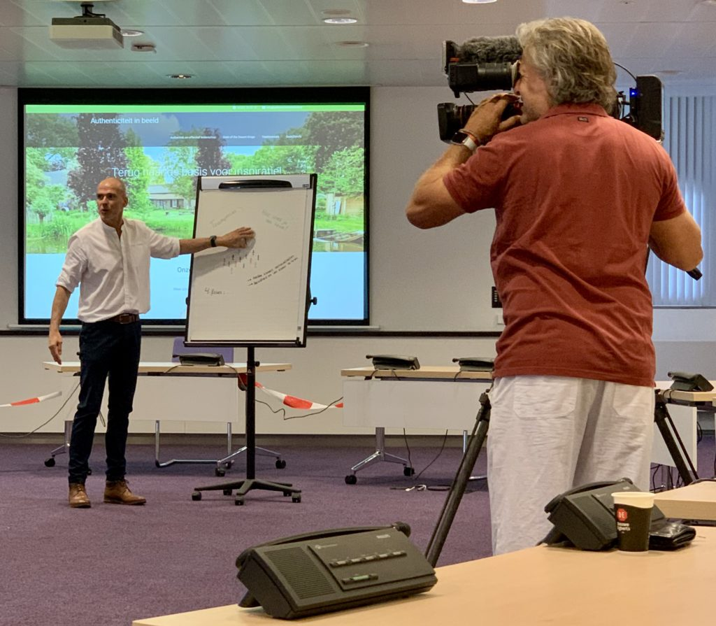 Interview Marcel Dassen voor RTL4